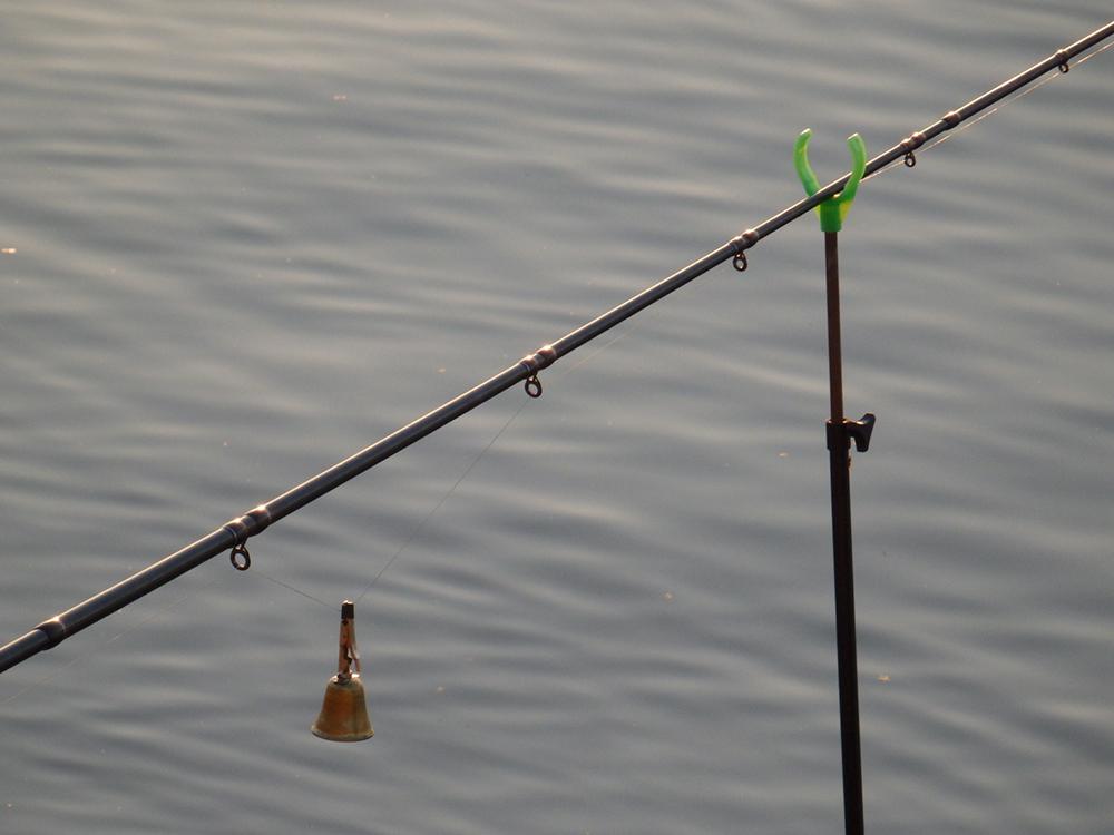 рыбалка, колокольчик