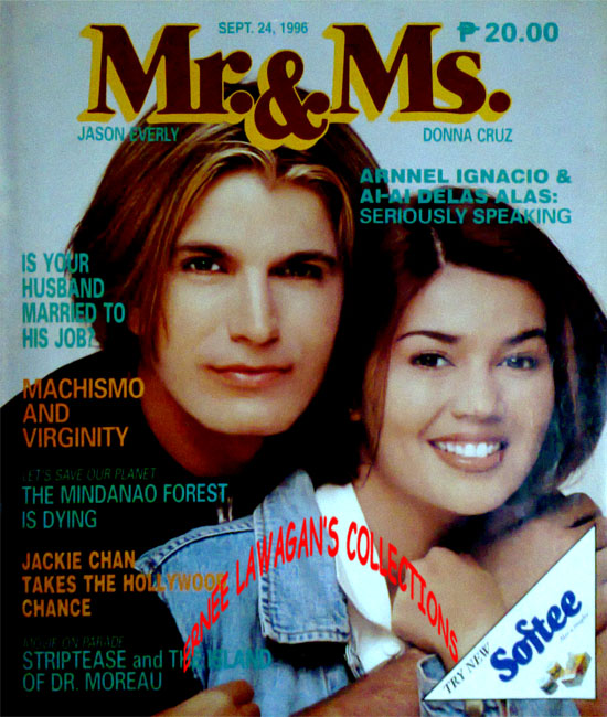 September 24 (1996): Mr. & Ms. Magazine Vol. XIX No. 21