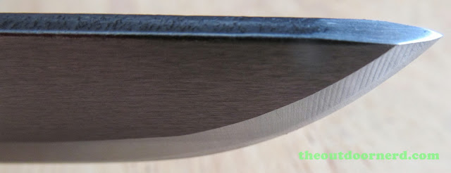 Hultafors Craftmans Knife Heavy-Duty GK: Closeup Of Blade Tip