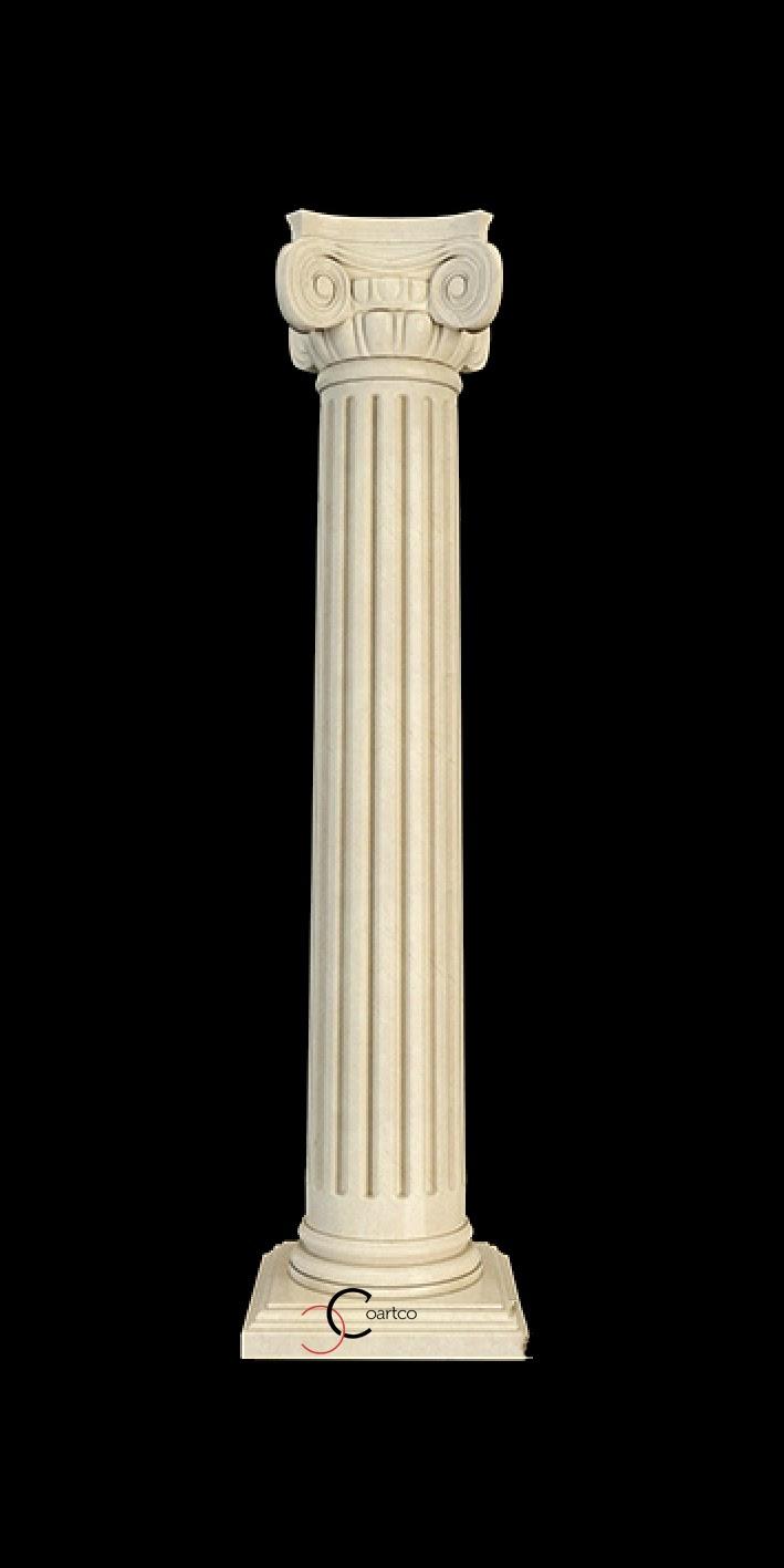 Coloande decorative din polistiren, coloane grecesti, coloane ionice, pret coloane