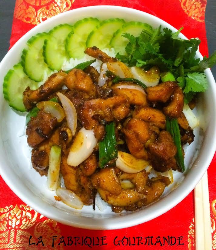 poulet la citronnelle vietnamien g x o x t blogs de cuisine. Black Bedroom Furniture Sets. Home Design Ideas