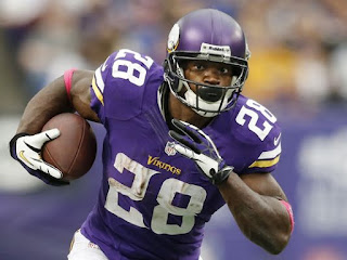 Adrian Peterson is the NFL's leading rusher