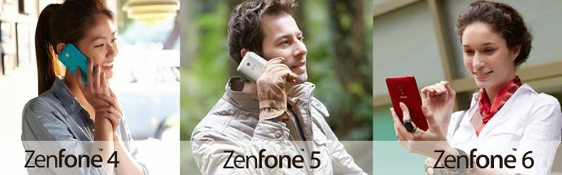 ASUS Zenfone 4, ASUS Zenfone 5, ASUS Zenfone 6