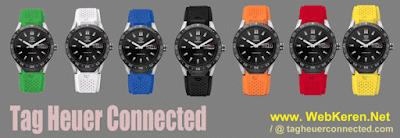 Smartwatch Android Kualitas Material Terbaik: Tag Heuer Connected