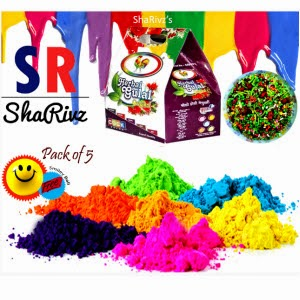 Cock brand Set of 5 Colours 100g each and Mouth freshner with Smily Ball and Rs.2 cashback at Rs.113 – Shopclues
