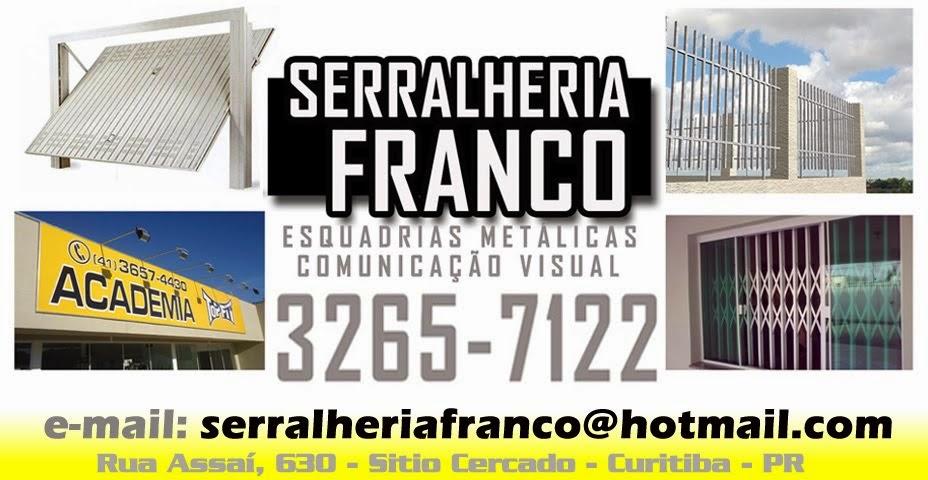 SERRALHERIA FRANCO | Sitio Cercado | Grades | Pantográficas | Portões