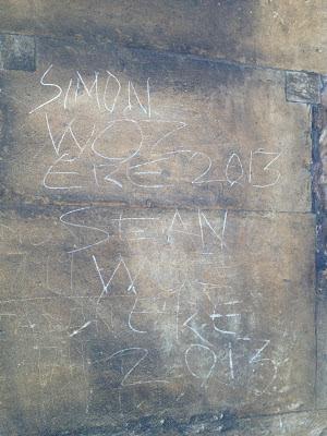 lincoln cathedral graffiti