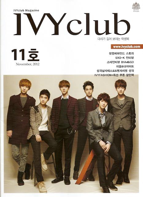 EXO-K Ivy Kul�b� Dergisi R�portaj///06.11.2012
