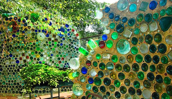 Wine Bottle Wall Art the art of up-cycling: bottle wall art- who knew bottles are so