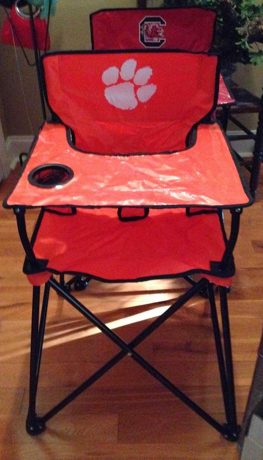 Portable High Chair Carolina April 2014