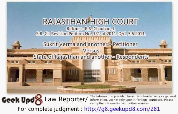 Rajasthan High Court - Husband-ridiculed-his-wife-for-her-dark-complexion-It-is-an-act-of-domestic-violence-Maintenance-to-wife-be-granted-according-to-her-standard-of-living