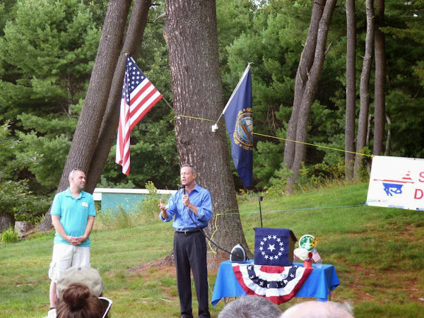 O'Malley Stumps For Shaheen In Somersworth