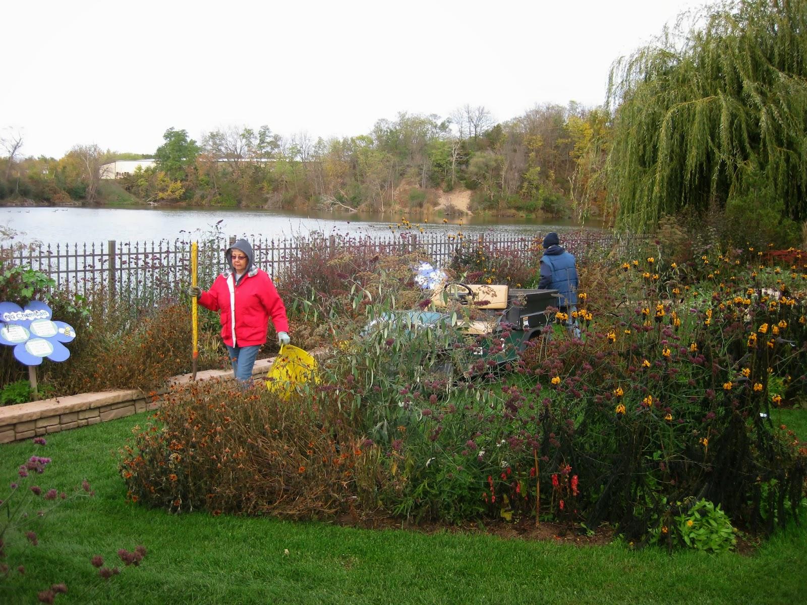 Rotary Botanical Gardens - Hort Blog: The Chain Gang