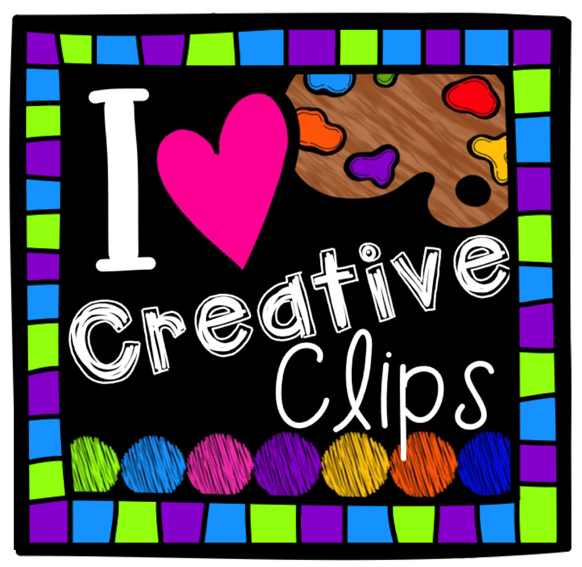 Adorable clip art and frames