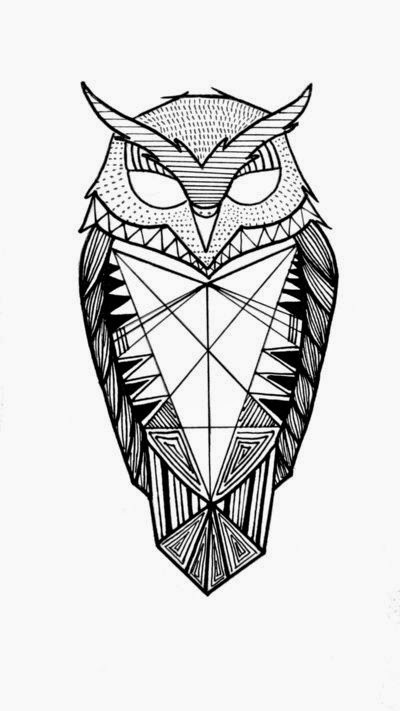 ART And TATTOO Owl