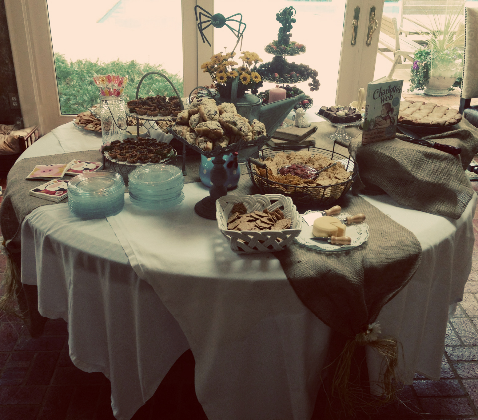 Sail South Home: Charlotte's Web Baby Shower