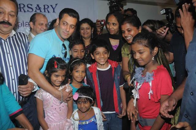 Salman Khan Bollywood Celebrity at Being Human Foundation Aniversary