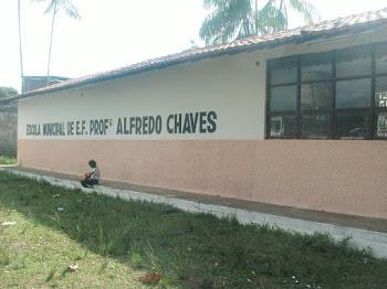 Quem sou eu. E.M. Alfredo Chaves, rua 02 de Dezembro s/n (entre Cristovão colombo e são Roque
