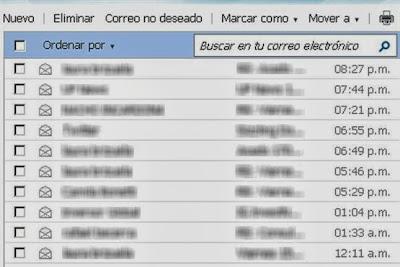 Conoce herramientas básicas de Hotmail