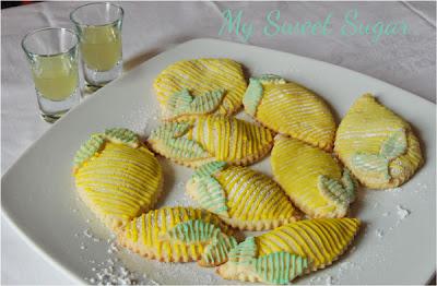 biscotti ripieni al limoncello