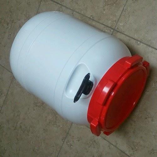 13 Gallon Beer Fermenter HDPE 2