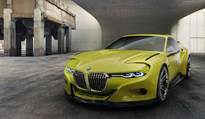 BMW 3.0 CSL Hommage 2015 Resimleri