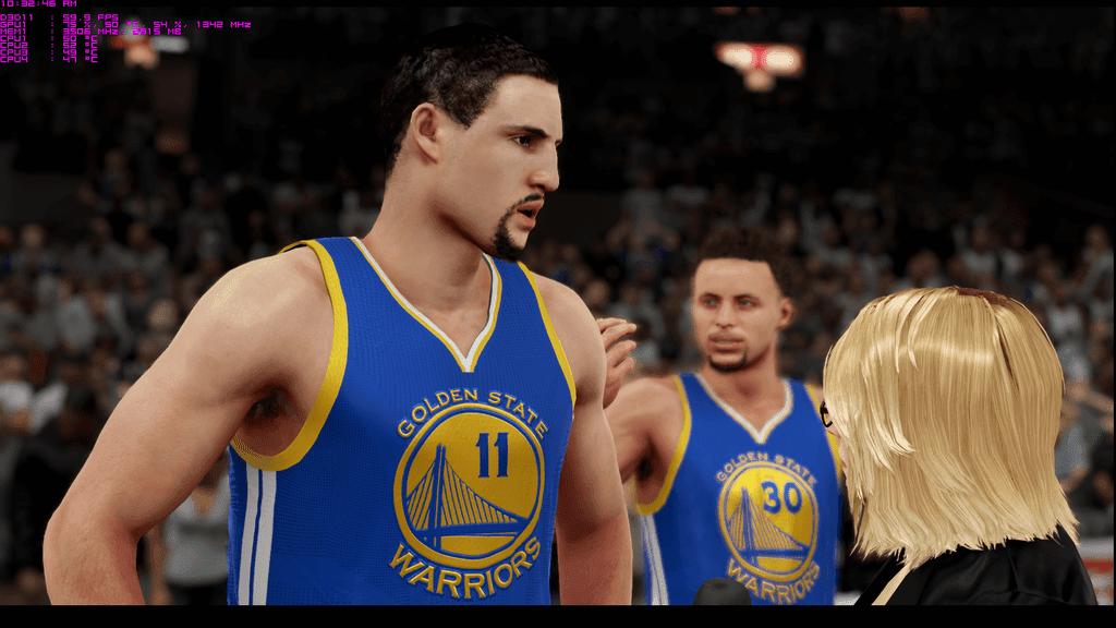 NBA 2k16 - Klay Thomson in Warriors