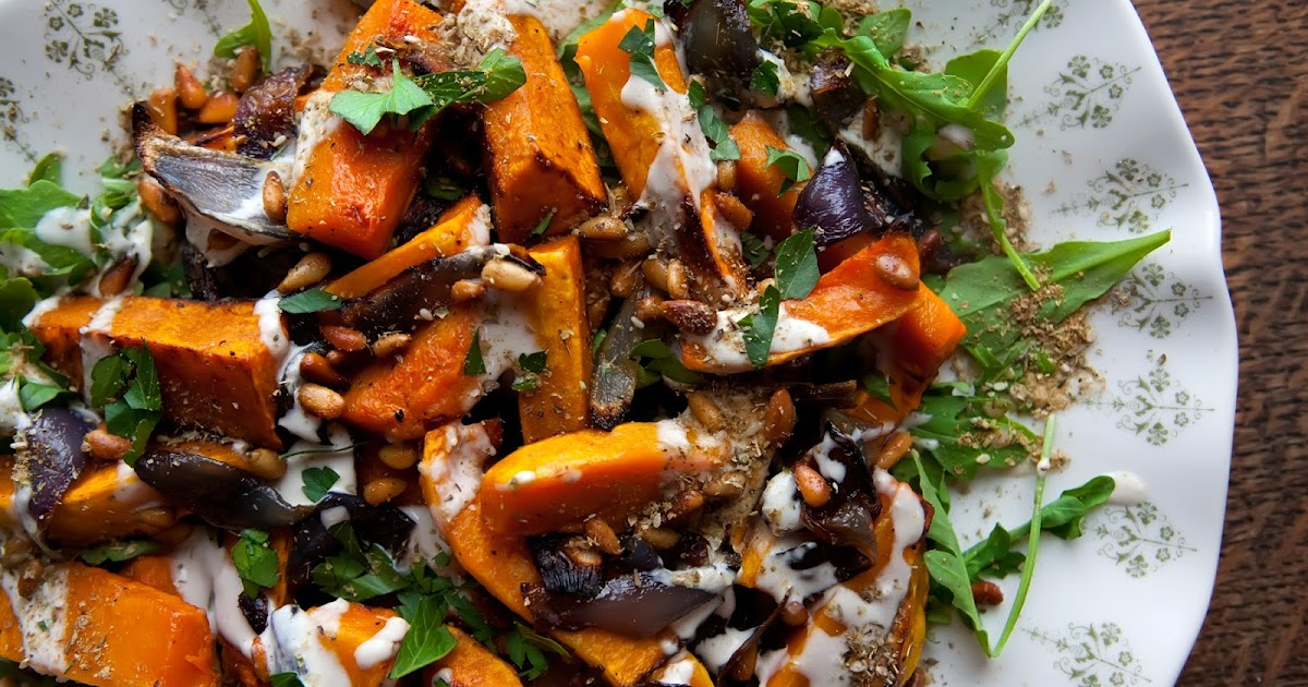 The Flour Sack: Roasted Butternut Squash & Red Onion with ...