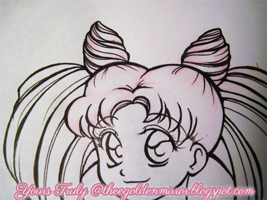 pink pastel hair chibiusa