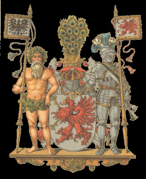 Großes Wappen der Provinz Pommern
