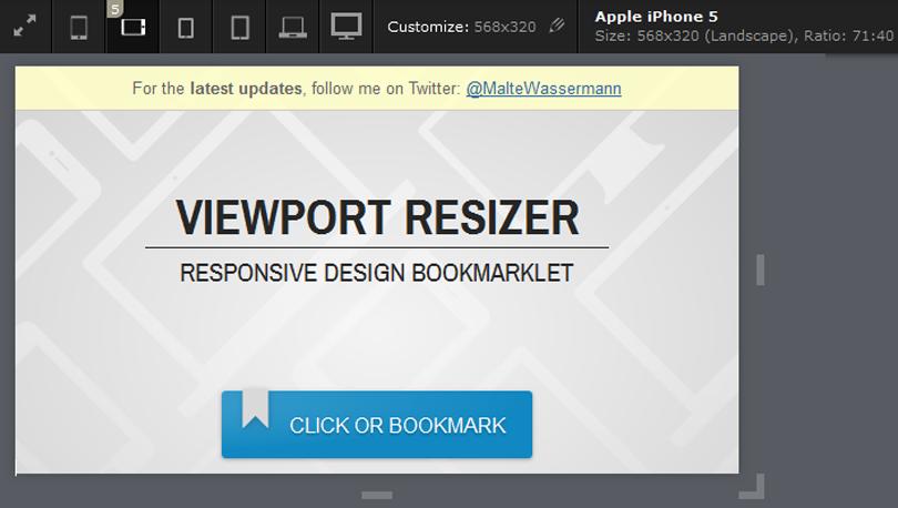 tool test responsive