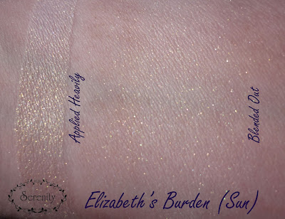 Notoriously Morbid Elizabeth's Burden Swatch
