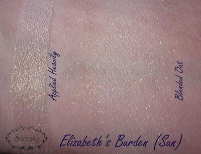 Notoriously Morbid Elizabeth's Burden Swatch