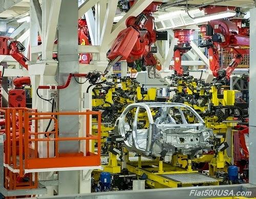 Fiat 500X Body Welding