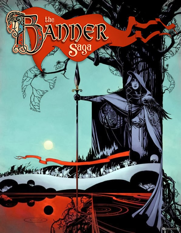 The Banner Saga PC Cover