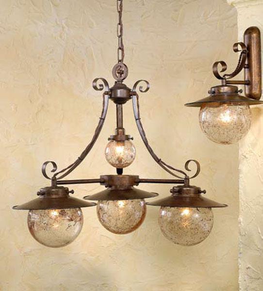 La web de la decoracion y el mueble en la red l mparas coloniales para el techo - Lamparas techo rusticas ...