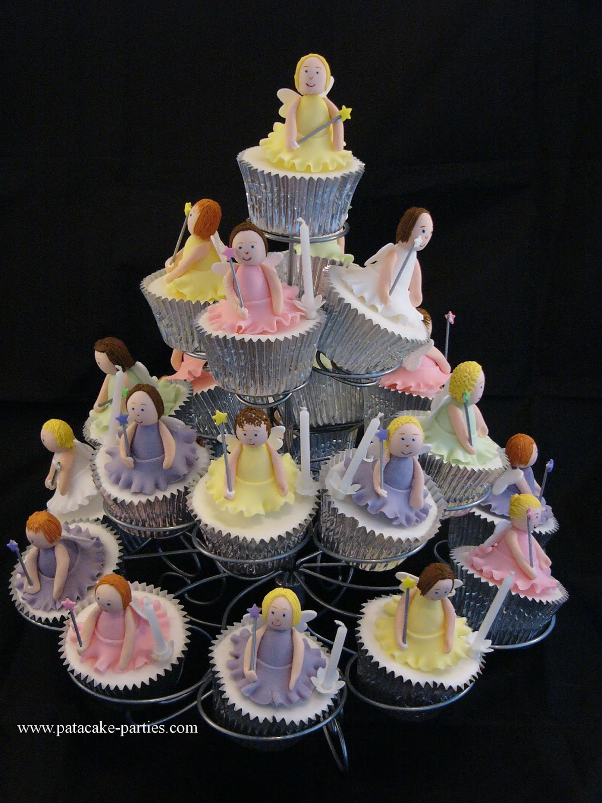 Once upon a time parties my top 5 fairy cakes for How to make fairy cupcakes