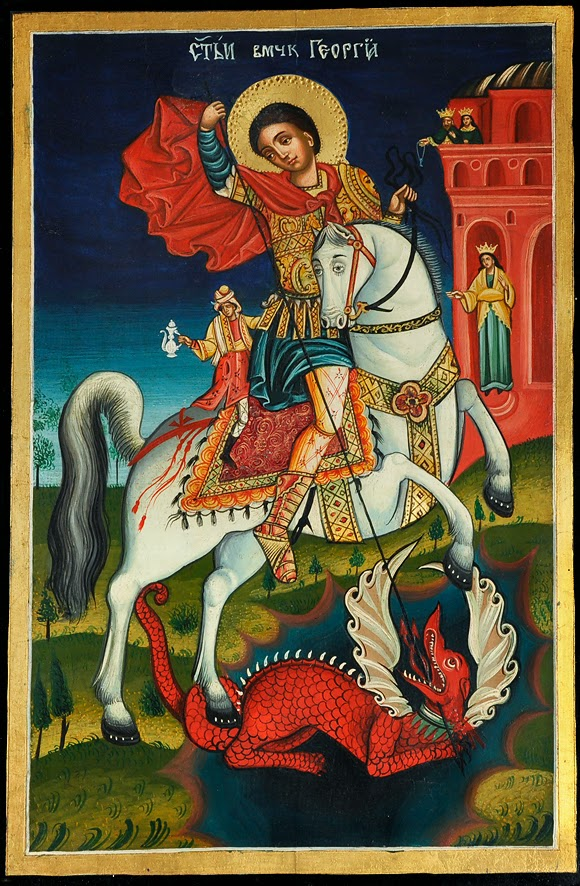 St George - Bulgarian icon