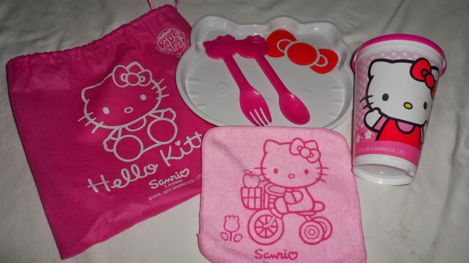 The Hello Kitty Loot Bags