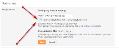 Custom Domain with Bigrock