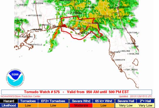 Florida Tornado Map.Mse Creative Consulting Blog Florida Tornado Watch
