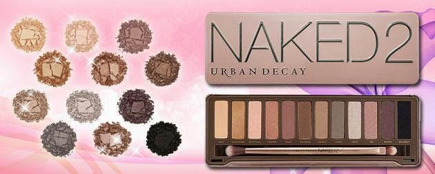 SET EYE SHADOE-NAKED 2, NAKED 3