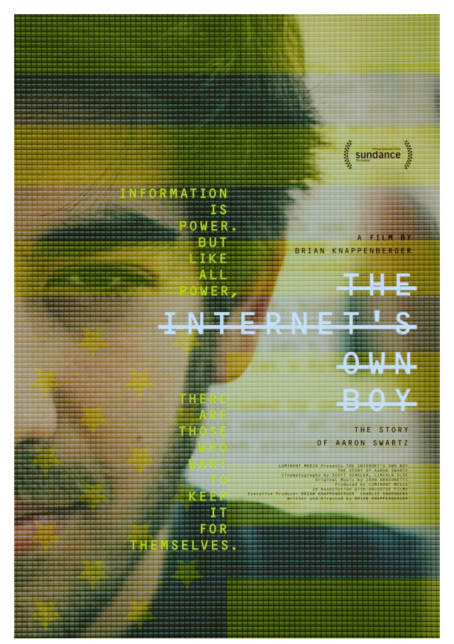 Sinopsis Film The Internet's Own Boy: The Story of Aaron Swartz (2014)