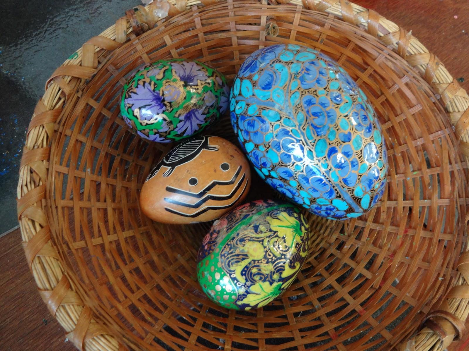 mairtown kindergarten decorative easter eggs