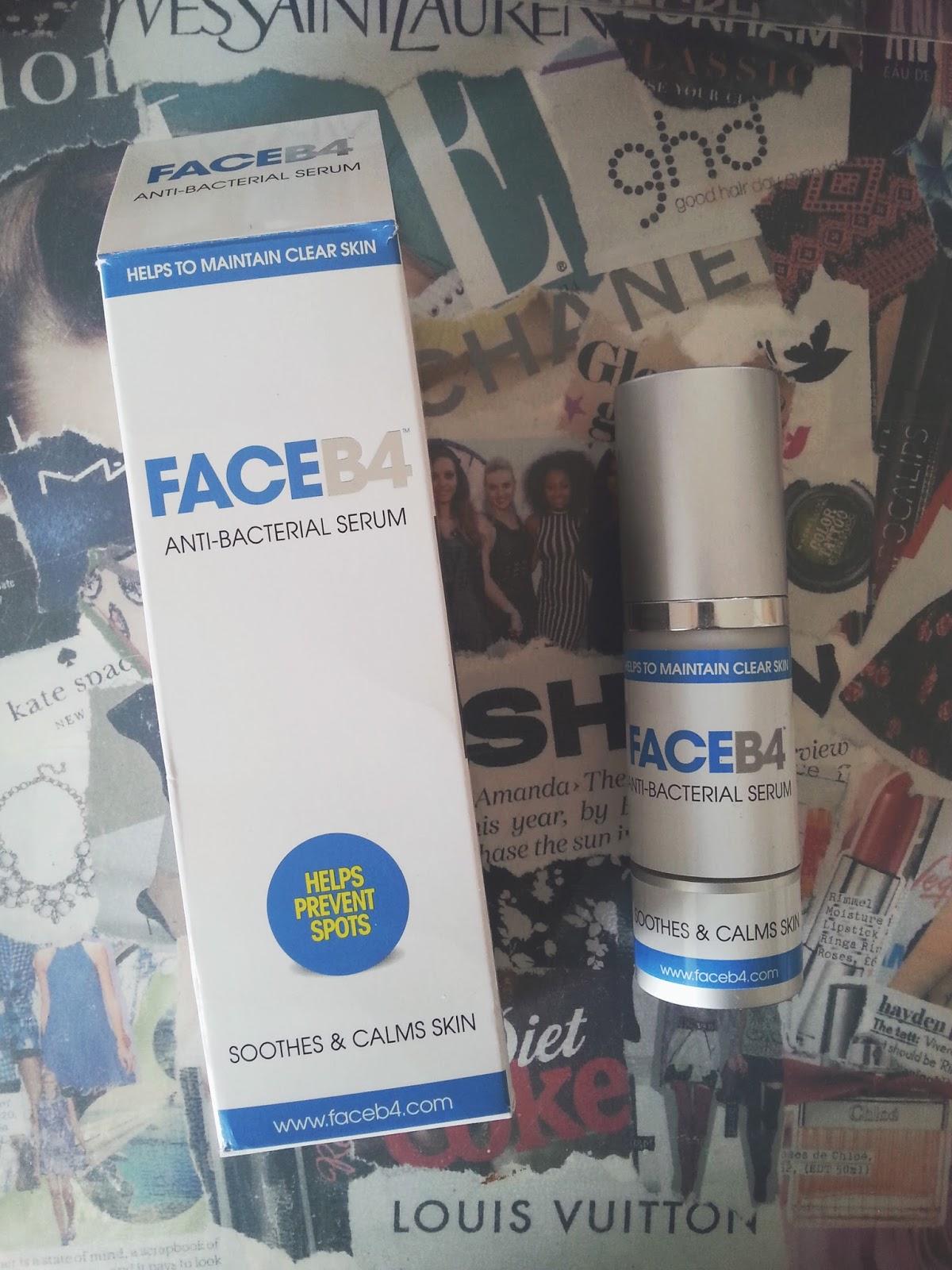 Face B4 Wash + Serum