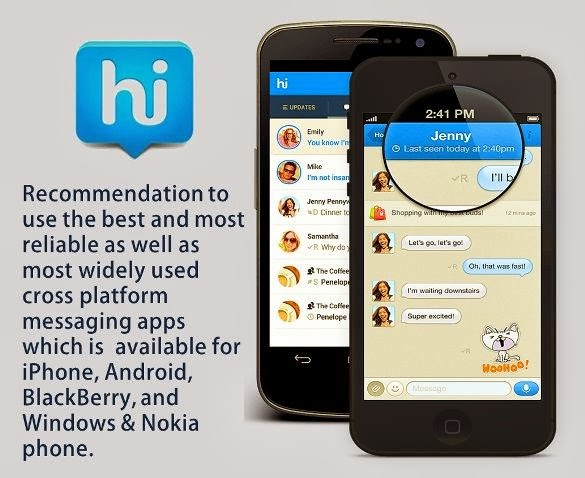 Hike - Best Cross Platform Messenger 2014 - ProBlogBooster