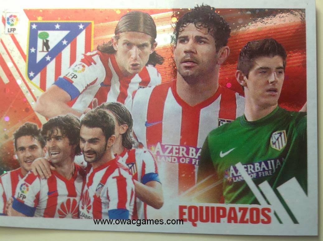 Liga ESTE 2013-14 Atl. de Madrid - Equipazo