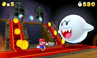 Large Boo in Super Mario 3D Land