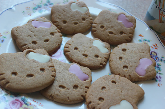 M&S hello kitty biscuits