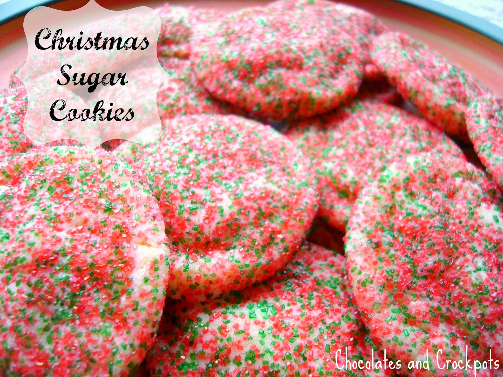 Christmas cookie recipe with almond extract